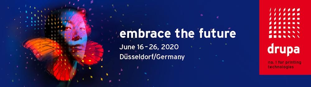 Drupa 2020 Messe Düsseldorf . Documentación expositores. Asesoramiento en Español sin coste. Delegación en España.
