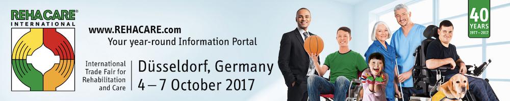 Rehacare 2017. Feria integración y rehabilitación. Toda la información visitantes y expositores. Delegación en España de Messe Düsseldorf.