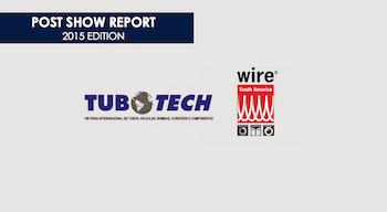 Informe post feria cifras y datos wire tubotech brasil 2015