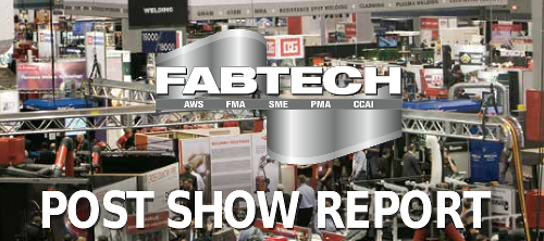 FABTECH 2015 post show report