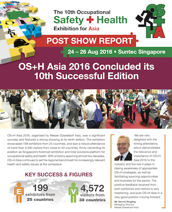 Post Show Report Safety Health Asia 2016