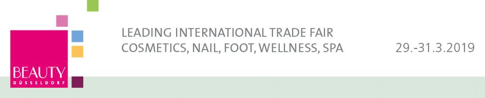 Feria internacional de la cosmética profesional, uñas, pies, bienestar y SPA. Beauty Düsseldorf 2019