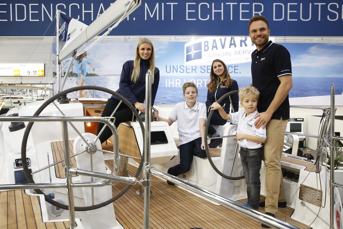 veleros de gran tamaño en BOOT DÜSSELDORF 2018