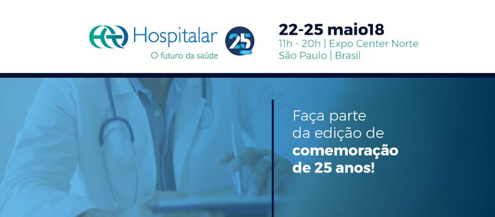 HOSPITALAR 2018. Feria y Foro Internacional de medicina y salud. Sâo Paolo, Brasil.