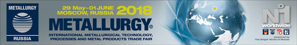 METALLURGY 2018 Russia Feria Internacional de Tecnología Metalúrgica, Procesos y Productos Metálicos