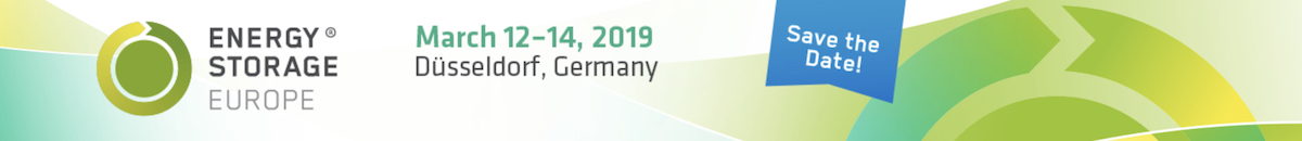 Energy Storage 2019 Düsseldorf