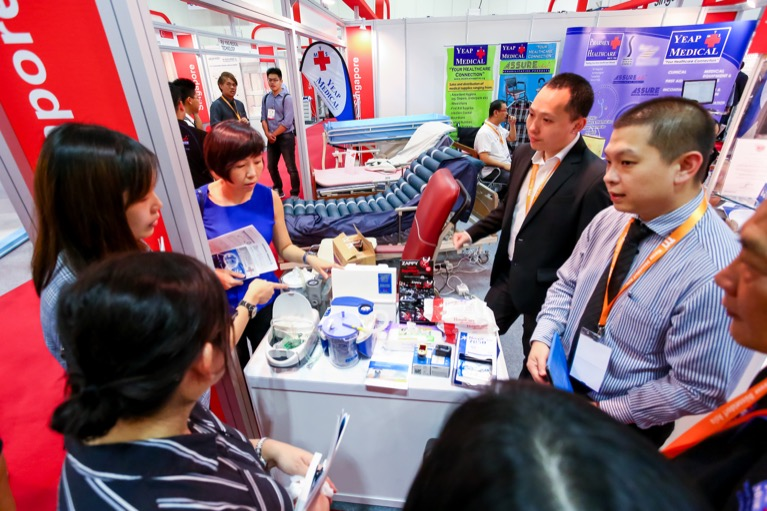 Medical Fair Asia feria medica y farmaceútica más importante del sureste asiático
