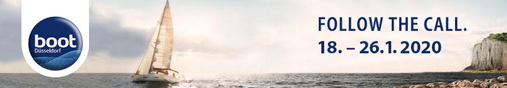 el próximo salon náutico boot de Düsseldorf se celebra del 16 al 26 de enero de 2020